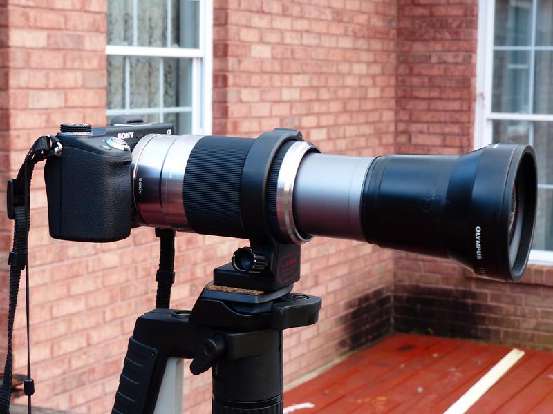 Lens extended.