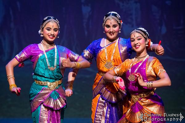Bharatanatyam Arangetram of Ashmi, Geetika & Srilakshmi