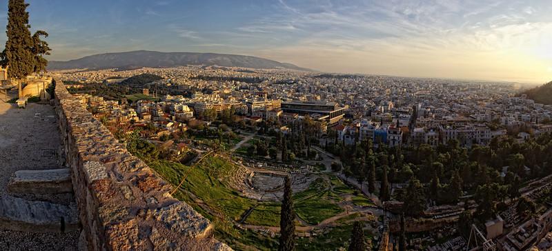 Near The Acropolis, Athens, Greece.