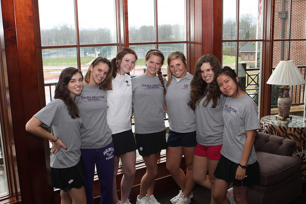 Darlington Tennis Team 2009