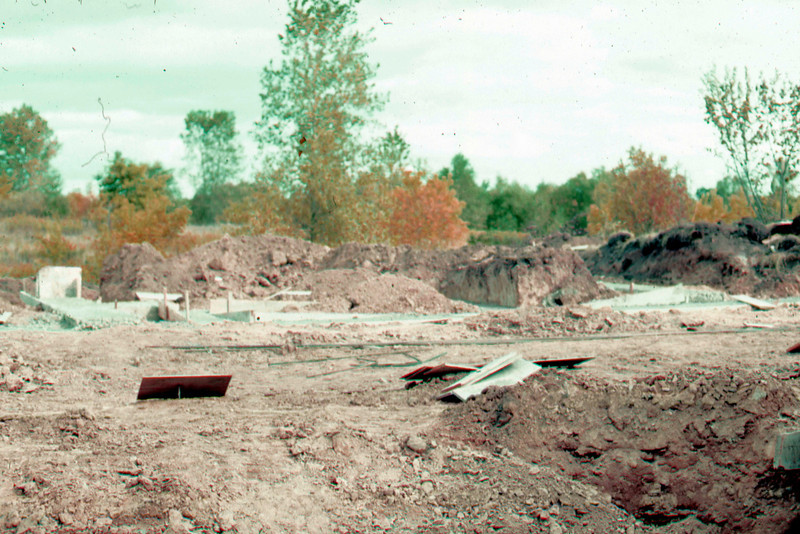 1974-09 - Footings are poured