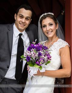 Kailey & Jason Formal Wedding Photographs