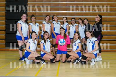 Braddock Girls Volleyball 9/24/15