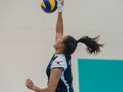 2013 AVL Canberra Heat v Vic Volleyball Academy (women)