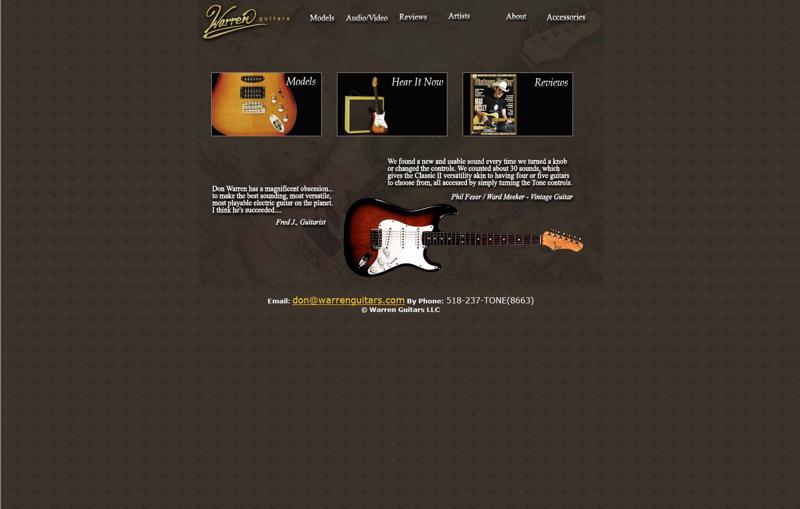 Guitar Websites
