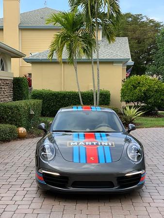 Martini livery on 911