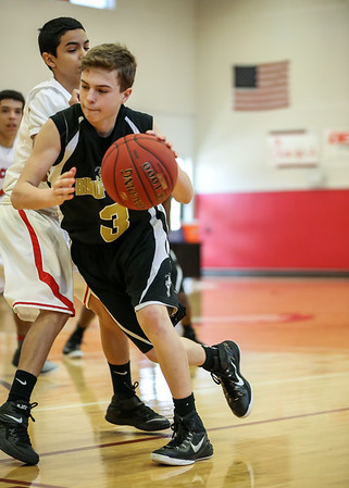 JJV BBall vs East River Jan 24, 2015