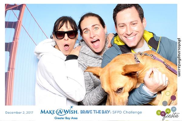 Make a Wish - Brave the Bay: SFPD Challenge - 12.2.17
