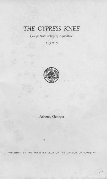 1925 Cypress Knee