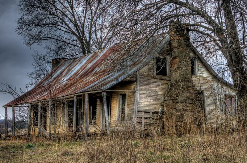 Oak Bend Road House - Cecil, AR  Dog trot