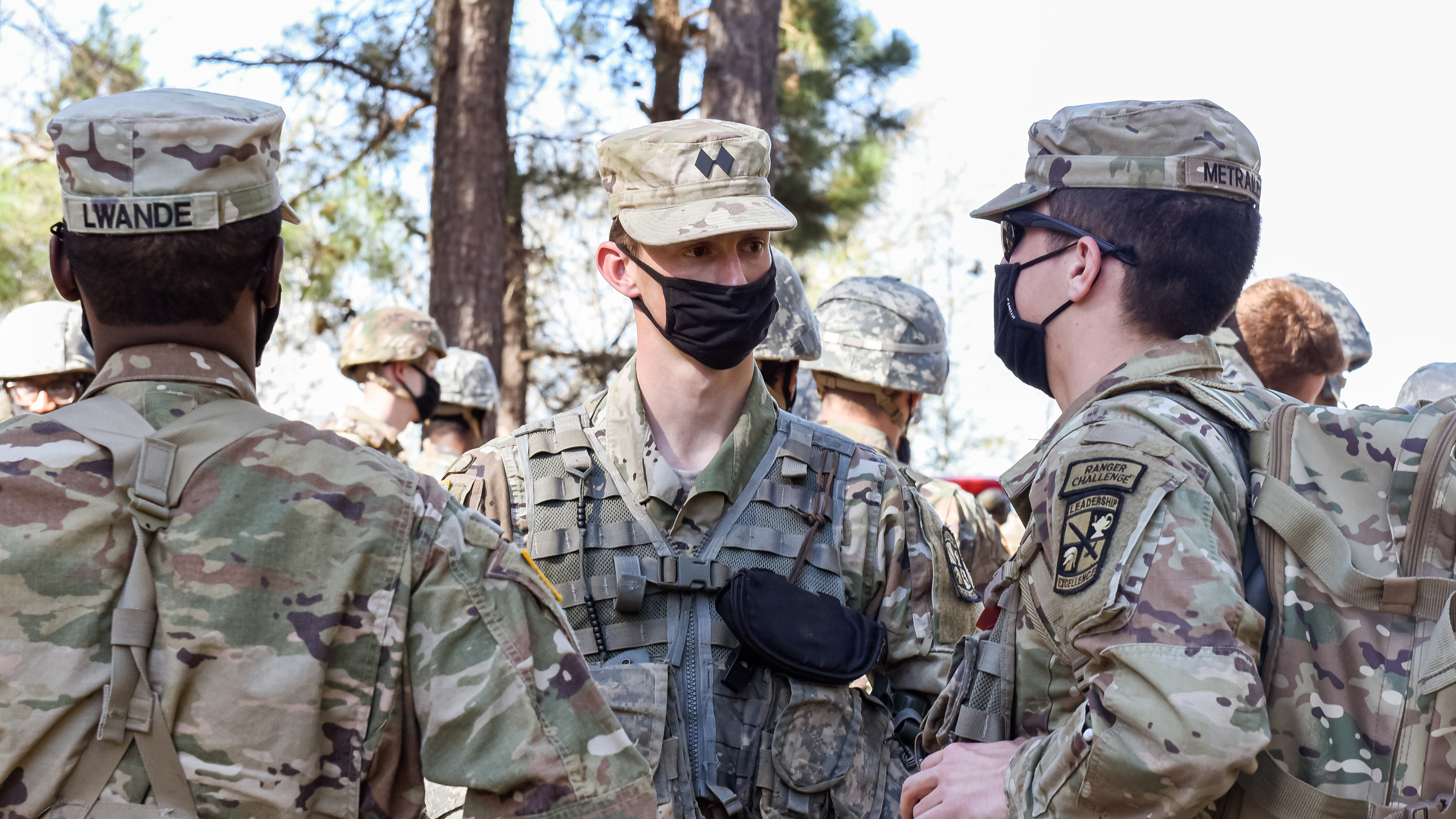 Image for Class of 2021: Senior management major leads through ROTC