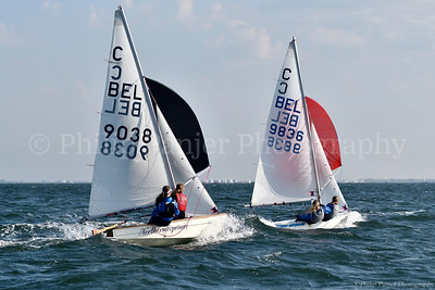 United4Sailing Roompot 2016 september CADET Class