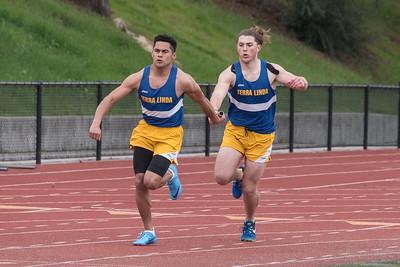 Terra Linda Track vs Petaluma