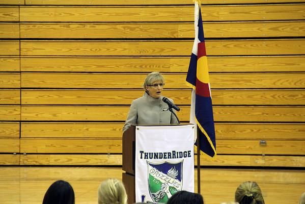 2013 ThunderRidge Senior Award Ceremony