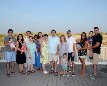 Curran Family Beach Portraits Aug. 28, 2018