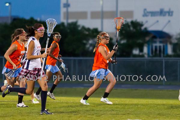 Boone @ Freedom Girls Varsity Lacrosse - 2012