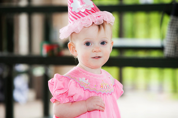 Kendall's First Birthday