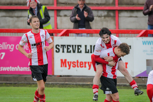 Witton Albion v Bottesford Town FA Cup First qualifying round 2018/19