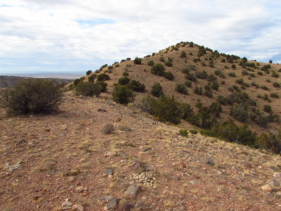 Peak 6,370 Hike (near Placitas)  1-8-18
