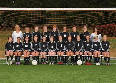 2010-2011 Women's Soccer Team & Individual
