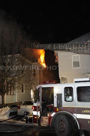 Lowell, MA - 3rd Alarm - 43-45 Gates St - 1/3/09