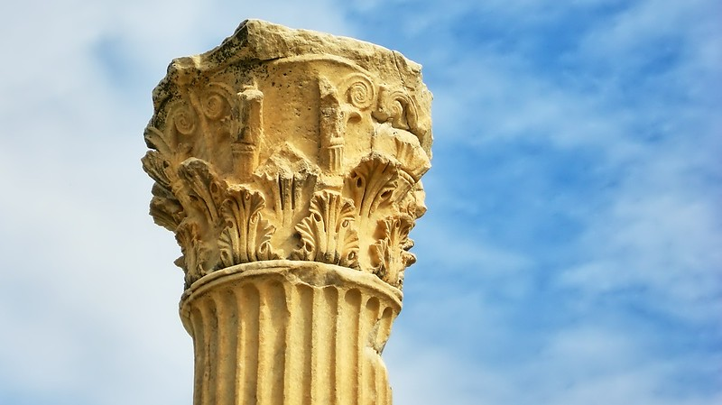 Ancient Column at Ephesus