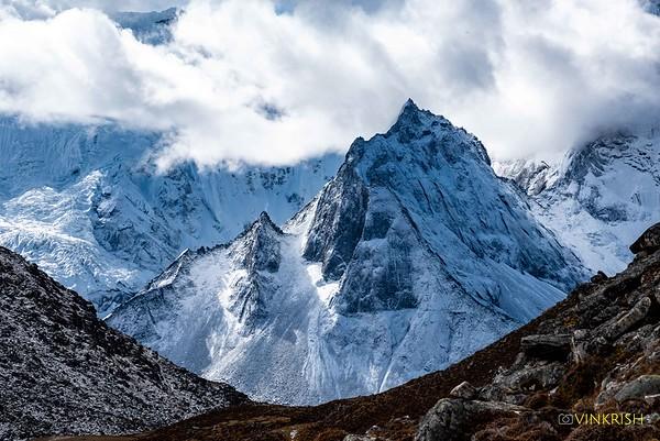 Nepal, 3 Passes Trek