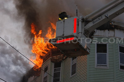 Lawrence, MA  - 3rd Alarm - Jackson St - 2/13/07