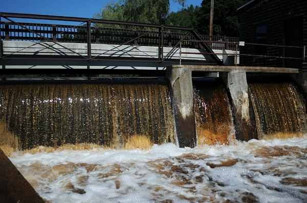 Elm Street Dam's Final Draw Down