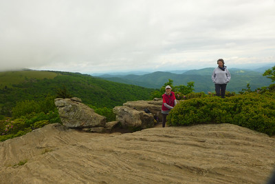 Roan Mountain with Marlys