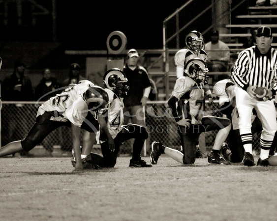 2009-Youth league Superbowl BLACK/WHITE
