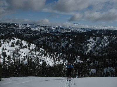 Winter Corner & Pilot Peak_February 15 2010