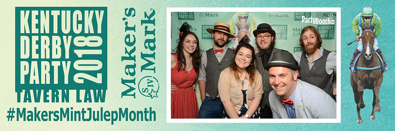 Kentucky Derby 2018 with Maker's Mark - Tonight We PartyBooth!