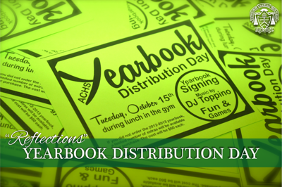 """Reflections"" Yearbook Distribution Day"