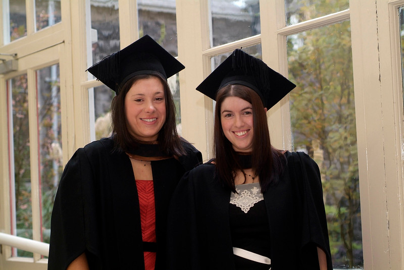 Fiona Kavanagh, Kildavin, Bunclody, Co. Wexford and Michelle Finn, Gorey, Co. Wexford were both conferred with Bachelor of Business (Honours) at Waterford Institute of Technology. (pic-photozone)