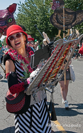 Fremont Solstice Parade 2015 Seattle, Wa.