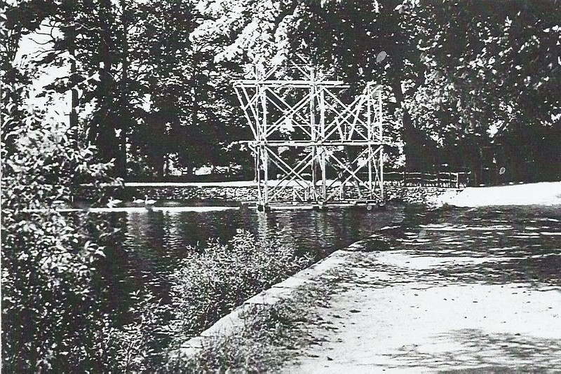 Diving board 1920`s