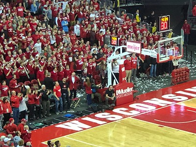 7 March 2019 Final Home Badger Basketball  Game