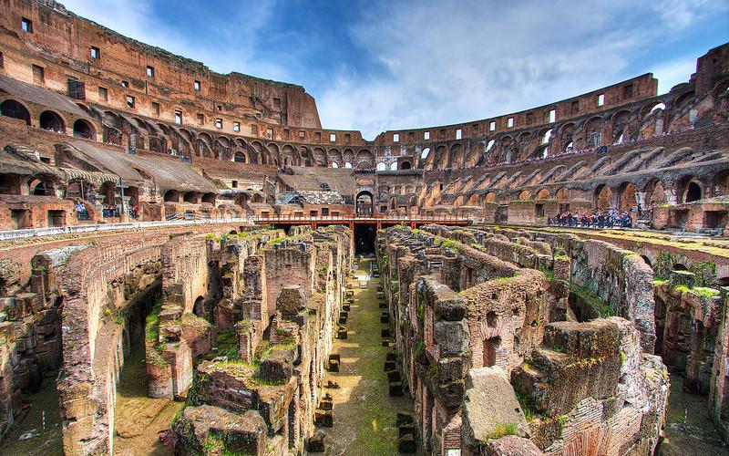 Colosseum Interior (HDR Image)