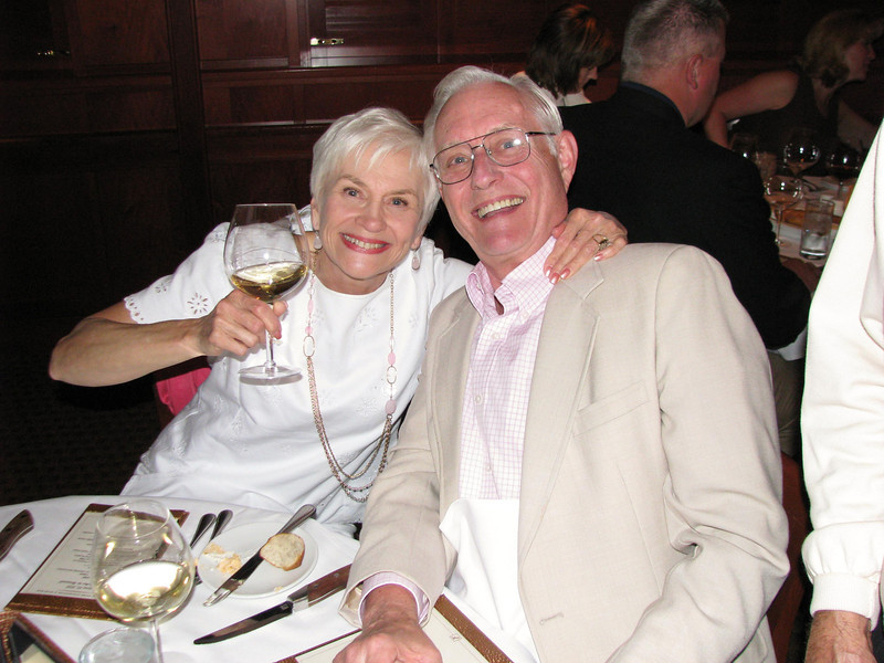 Howard's retirement dinner.  Donna & Ray Weihofen.