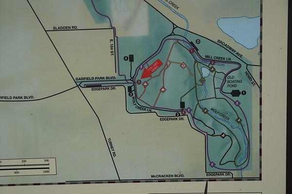 Garfield Creek Fall  1-7-2020