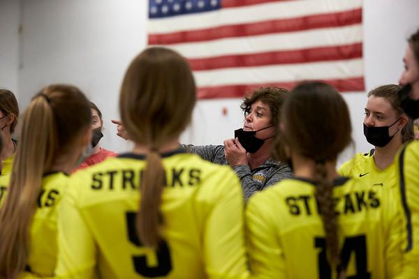 GHS Girls Varsity Volleyball vs Geneseo March 20, 2021
