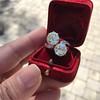 5.15ctw Old European Cut Diamond Toi et Moi Ring 13