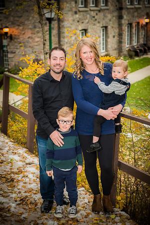 Matt & Reanne and family