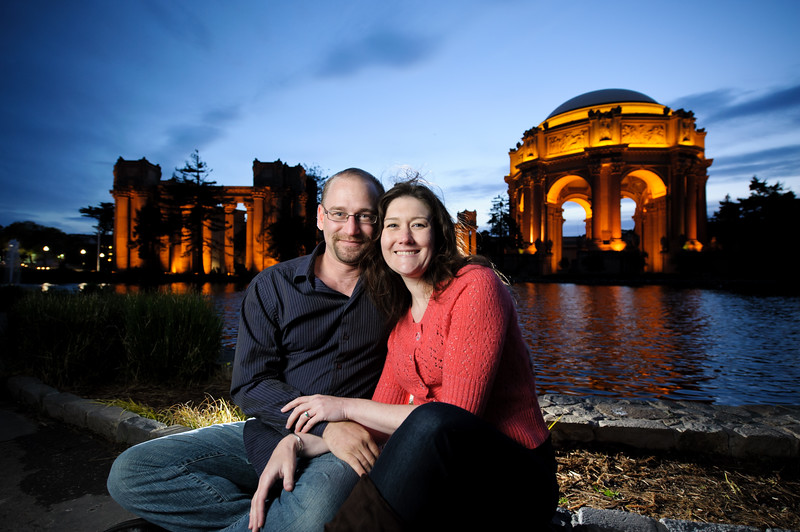 Michelle and Aren - Engagement Photography, Palace of Fine Arts, San Francisco, California