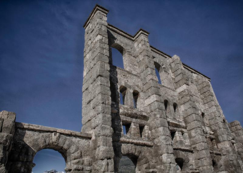 Asolo Roman Amphitheater Ruins