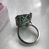11.77ct Tourmaline Halo Ring by Leon Mege, AGL Cert 33