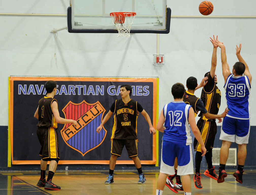 . Shant plays Ararat in boys basketball. The months-long Homenetmen Navasartian Games, an Armenian athletic competition that involves thousands of competitors, concluded Saturday at Birmingham High School in Van Nuys, CA. 7/6/2013(John McCoy/LA Daily News)
