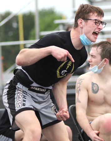 052121 DeKalb Sycamore wrestling