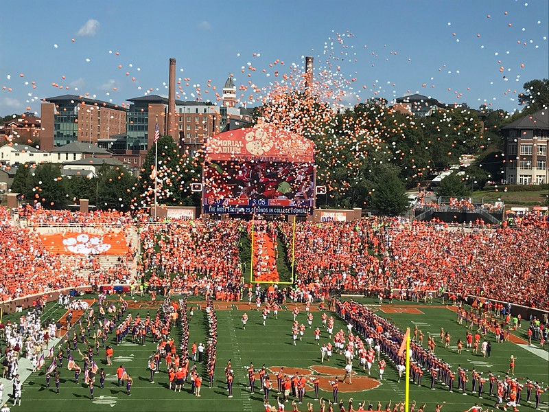 Clemson football game